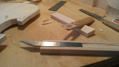 Making a new knife handle
