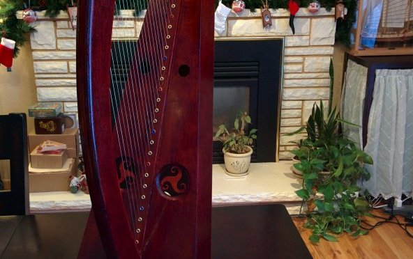 Celtic Wire Harp