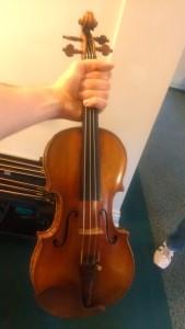 That's ME holding the Jackson Stradivarius.