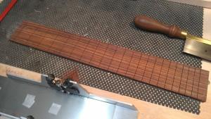 Slotted fingerboard