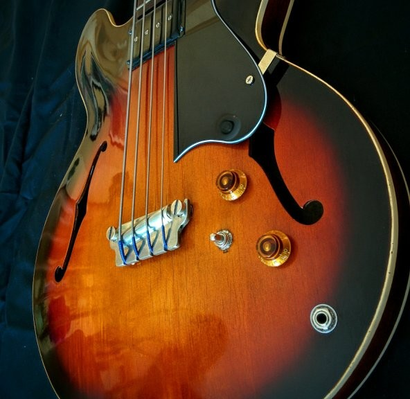 Gibson 1959 EB-2 Bass Restoration Project